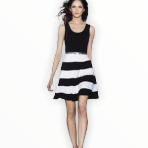 Express Fit and Flare Sleeveless Dress